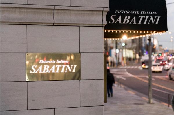 リストランテ・サバティーニの外観