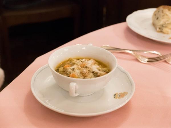 スープ(ミネストローネ)
