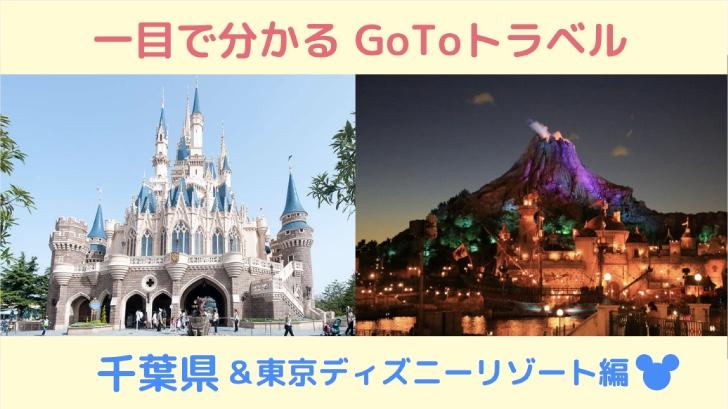 GoToトラベルの対象ホテルをマッピング!東京ディズニーリゾートの対象ホテルも紹介