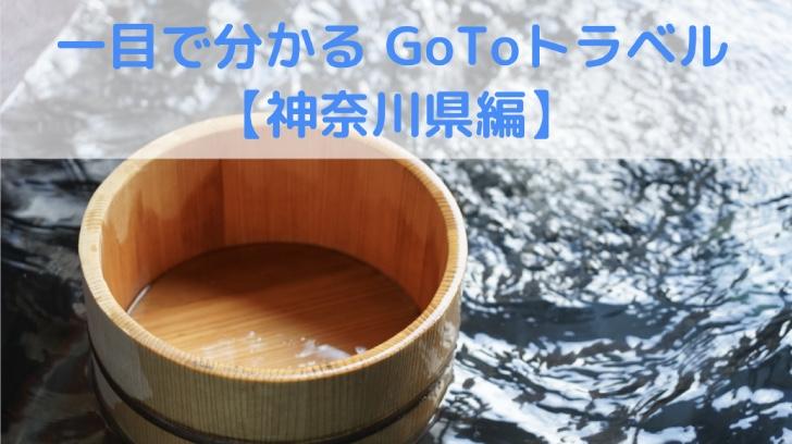 神奈川県内のGoToトラベル対象ホテルをマッピング!
